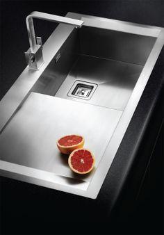 Stainless Steel Sinks Ireland : Senator modern single bowl stainless steel sink. http://www.sinks ...