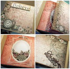 Imaginarium Designs: Beautiful Mini Album ....
