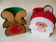 Santa and reindeer #3