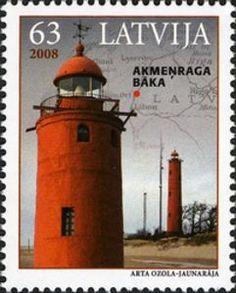 Latvia lighthouse