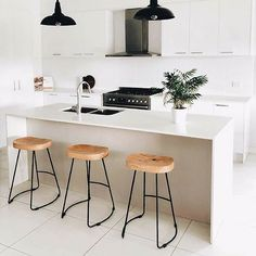 @interior_rookie shows us her #AmartStyle in the kitchen featuring our Anarchy Stool. Buy 1 get 1 half price until 2/5/18.