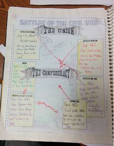 This download features 15 Interactive Notebook pages for American History that cover the Civil War through Reconstruction. The Interactive Notebook pages include graphic organizers, creative foldables, timelines, and more!
