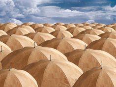 Cork Umbrella by Pelcor - cork fashion accessories http://www.pelcor.pt #Portugal