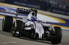 Valtteri Bottas, Williams, Singapore, 2014 practice