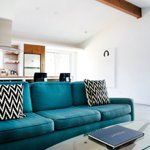 Colorfully Cushioned: Blue Couches & Chairs | Apartment Therapy