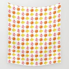 Flower Pattern #1 | For a new, high quality natural cosmetic line, I created different watercolor paintings. All paintings couldn't be used, so I'd like to share it with you – here you can see a flower pattern. #Painting #Watercolor #Decoration #Unique #Design #Watercolor #Colorful #Paint #Flowery #Girly #Botanic #Pattern #Flower #Flowers #Nature #Floral #Garden #Botanical #Elegant #Plant #Kathrinmay #tapestry #society6