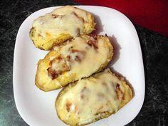 Loaded Double Baked Potatoes