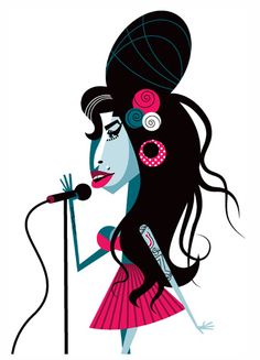 Amy Winehouse - artist: Pablo Lobato -