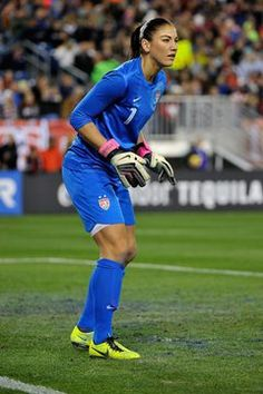 If your rec league soccer team wants you to play goalkeeper, it's a recognition of your athletic ability. Literally the last line of defense, a topnotch goalie can single-handedly save the day with . Top Soccer, Soccer Goalie, Soccer Stars, Soccer Players, Soccer Usa, Soccer Cleats, Soccer Warm Ups, Soccer Pics, Girls Soccer