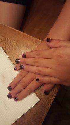 Anc black 33 and neon purple 152