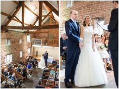 The Ashes wedding ceremony in the West Barn