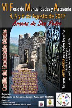 TietarTeVe en Gredos: VI Feria de Manualidades y Artesanía en Arenas de ...