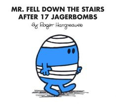"""If """"Mr Men"""" Books Were Rewritten For Twentysomethings Mr Men Books, Mr Bump, Mr Men Little Miss, World Book Day Costumes, Monsieur Madame, Funny Iphone Wallpaper, Ladybird Books, Expressions, Lectures"""
