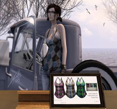 Drift - http://maps.secondlife.com/secondlife/Stygia/224/235/3493  Virtual shopping!