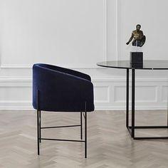 WEBSTA @ carrie.hayden - Curves… #RenéHougaard #chair #dining #furniture #design #CHinspiration