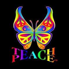 Beautiful Butterflies, Mosaic, Butterfly, Peace, Inspiration, Signs, Biblical Inspiration, Mosaics, Shop Signs