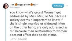 Miss is just Ms., just like Misses is Mrs..