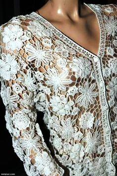 Irish Crochet Lace | Irish Crochet Lace, Crochet Irlandes, Guipure d'Irlande