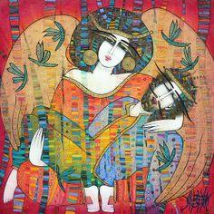 Amazing artist Albena Vatcheva