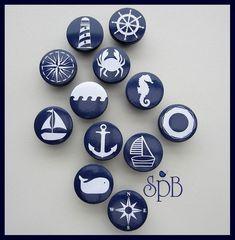 Nautical Drawer Knob Drawer Pulls Nautical Nursery Decor Dresser Knobs For Kids Room Nautical Knobs Navy Anchor Sailboat Helm Lighthouse Whale Dresser Knobs Drawer Pulls Nautical Drawer Knobs, Nautical Drawers, Nautical Dresser, Nautical Prints, Nautical Nursery Decor, Vintage Nautical Decor, Nautical Rugs, Rustic Decor, Kids Dressers