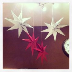 Paper Stars tutorial / DIY Christmas decorations / paper craft