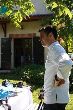 Le Chef Stéphane Réau // Atelier culinaire - Voyage blogueurs Roquefort Papillon 2013