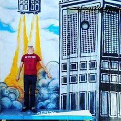 #Streetart #art #rocket #Telliskivi #Tallinn #Estonia