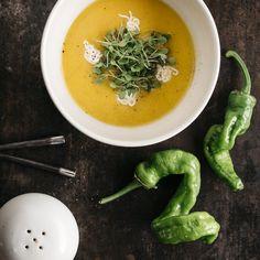 Summer Tomato Gazpacho | Recipe at http://www.stephsalvatore.com/blog