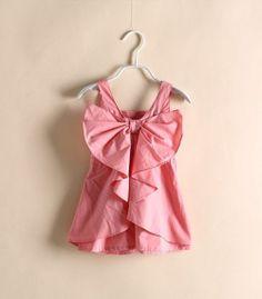 Sweet Bowknot Dress- OMG! Too cute!