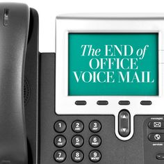 The end of office voice mail - The Washington Post