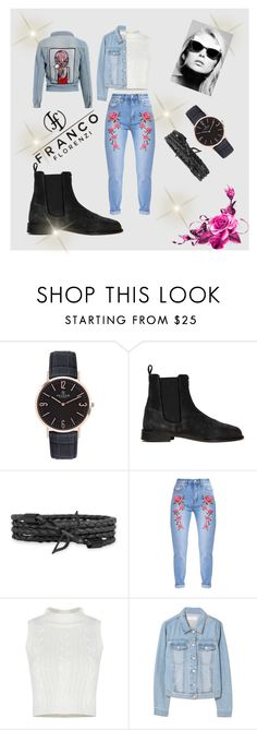"""Win $50 from Franco Florenzi"" by slavka-jovic ❤ liked on Polyvore featuring MANGO, Retrò, rose, jeans and Franco_Florenzi"