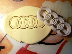 Hey, I found this really awesome Etsy listing at https://www.etsy.com/listing/208622181/audi-logo-cookie-cutter-made-from