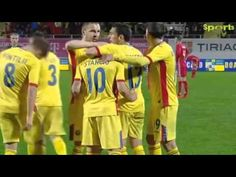 Goool : Nicuşor Stanciu  ( Romania - Lituania  1 - 0 )( 23.03.2016 ) Wrestling, Sports, Youtube, Lithuania, Lucha Libre, Hs Sports, Sport, Youtubers, Youtube Movies