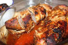 Timianmarinert indrefilet av svin – josefinesmatgleder Tandoori Chicken, Pork, Meat, Ethnic Recipes, Kale Stir Fry, Pork Chops