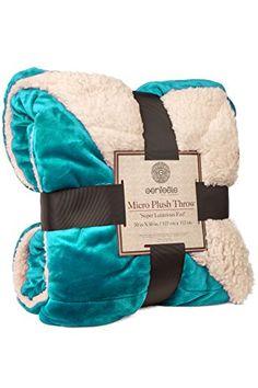 Genteele Sherpa Throw Blanket, 60X70, Super Soft Reversib... https://smile.amazon.com/dp/B01K3VKEB0/ref=cm_sw_r_pi_dp_x_JjdVybPJY47G1