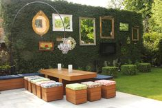 Grand Garden Furniture decorating ideas for Appealing Patio Eclectic design ideas with bespoke furniture box garden