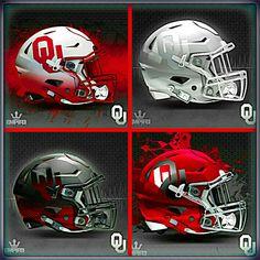 Some new looks from Empire Graphics New Nfl Helmets, Cool Football Helmets, Football Helmet Design, Cowboys Helmet, Sports Helmet, Custom Helmets, Oklahoma Sooners Football, Nfl Football Players, Nfl Football Teams