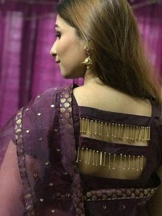 55 Latest Pattu saree blouse back neck designs Net Saree Designs, New Saree Blouse Designs, Blouse Designs Catalogue, Churidar Neck Designs, Simple Blouse Designs, Blouse Back Neck Designs, Stylish Blouse Design, Bridal Blouse Designs, Blouse Styles
