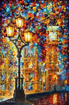 """Big Ben"" by Leonid Afremov"
