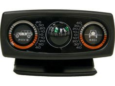 Rampage Products Inclinometer with JK Graphics & Compass | Jeep Parts and Accessories | Quadratec from quadratec.com. Saved to Vehicle🚗💨.