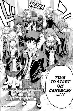 Yamada-kun to 7-nin no Majo (and the Seven Witches) Manga