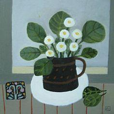 Daisies On The Windowsill | Jill Leman