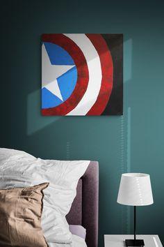 Avengers captain America painting