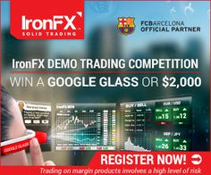 Demo Trading Competition - Compete to win an incredible Google Glass or $2,000!