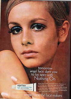 Twiggy ~ Angel Face advert, HONEY, August 1967