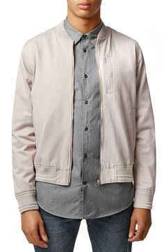 Topman Bomber Jacket available at #Nordstrom