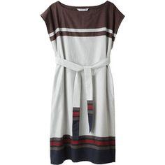 Tsumori Chisato Gori Stripe Dress