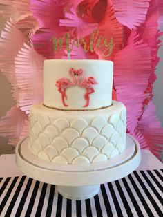 Birthday cake decorating kids fun 34 Ideas for 2019 Flamingo Party, Flamingo Baby Shower, Flamingo Cake, Flamingo Birthday, Birthday Cake Decorating, Cool Birthday Cakes, Birthday Crafts, Birthday Parties, Funny Birthday