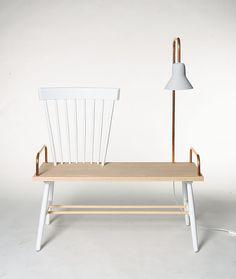 For sale! Uniek ontwerp van M.oss design voor #101woonideeen t.b.v. Kika www.kika.nl #uniquedesign #chairity #woonbeurs http://cargocollective.com/marcelossendrijver/