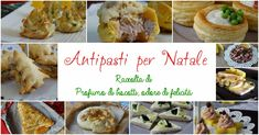 25 idee per realizzare golosissimi antipasti per Natale, stupite i vostri ospiti! Venite a sfogliarle tutte e scegliete le vostre preferite! Christmas Party Food, Christmas 2019, Christmas Cookies, Burritos, Antipasto, Biscotti, Finger Foods, Muffin, Food And Drink
